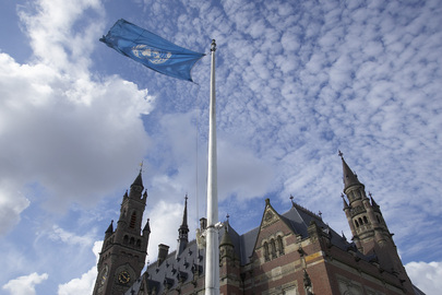 The International Court of Justice at The Hague, Netherlands