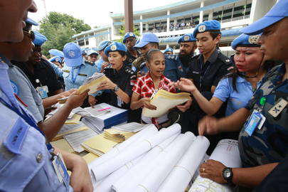 UN and Timor Police Prepare for Presidential Elections
