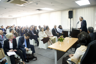 Secretary-General Addresses UN Staff in Malaysia