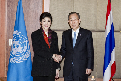 Secretary-General Meets Prime Minister of Thailand in Seoul