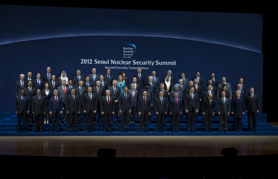 World Leaders at 2012 Nuclear Security Summit in Seoul