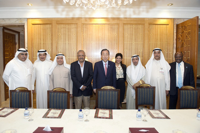 Secretary-General Meets UNDP Advisory Board in Kuwait