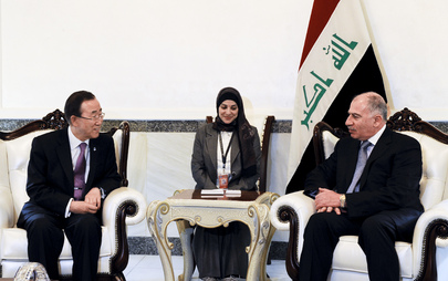Secretary-General Meets Speaker of Iraqi Parliament