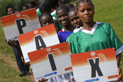 Sport for Peace Competitions in Côte d'Ivoire
