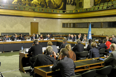 Secretary-General Meets Global Migration Group in Geneva