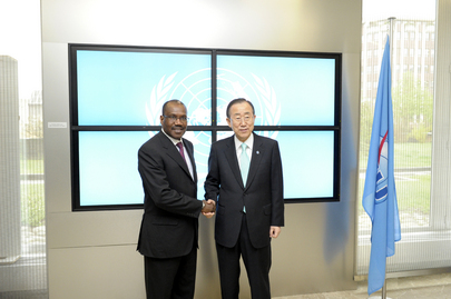 Secretary-General Meets Head of International Telecommunications Union