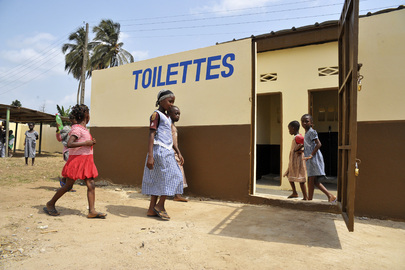 UNOCI Supports Improvements to Schools and Toilets