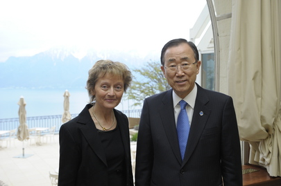 Secretary-General Meets President of Swiss Confederation