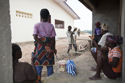 Justice and Peace Hub under Construction in Gbarnga, Liberia
