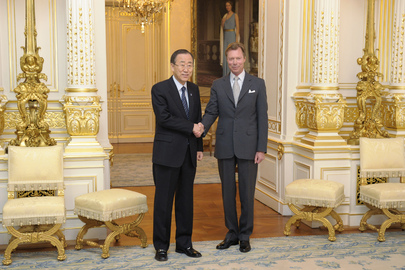 Secretary-General Meets Grand Duke of Luxembourg  