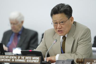 Sha Zukang – Secretário-Geral da Rio+20 e Subsecretário-Geral das Nações Unidas para Assuntos Econômicos e Sociais (Foto: UN Photo/Paulo Filgueiras)