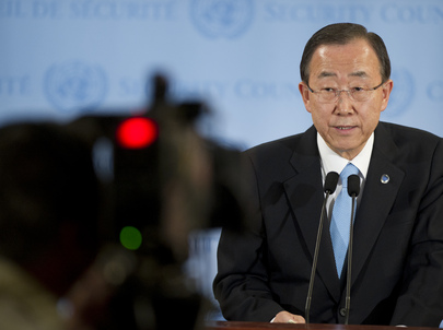 Secretary-General Speaks on Syria, Situation in Sudan and South Sudan