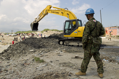 UN Mission Clears Debris ahead of Rainy Season in Haiti