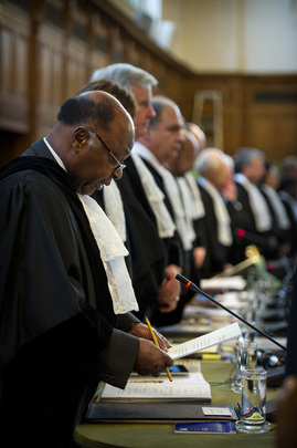 ICJ Hearings in Nicaragua v. Colombia Maritime and Territorial Dispute
