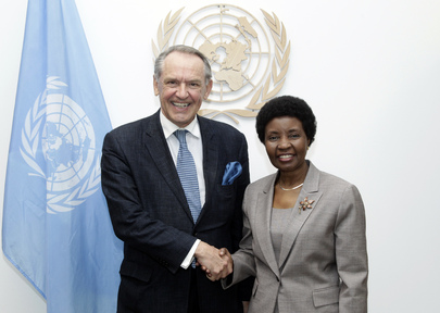 Deputy Secretary-General Meets Successor