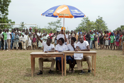 UN Organizes Inter-School Event in Bonoua, Côte d'Ivoire