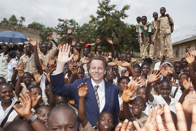 UNOCI Head Visits School in Bonoua, Côte d'Ivoire