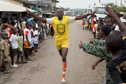 UN Organizes Sports Activities with Ivorian Communities