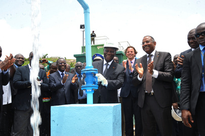 UNOCI Head and Ivorian President Inaugurate Facilities in Duékoué