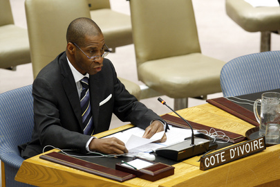 Security Council Meets on Côte d'Ivoire