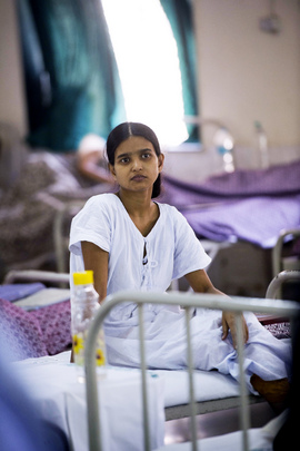 Women and Children's Hospital in Mumbai, India