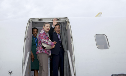 Secretary-General Leaves for Naypyitaw, Myanmar