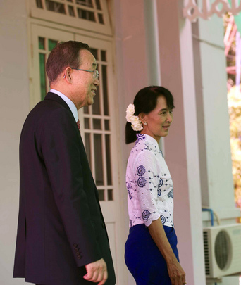 Secretary-General and Aung San Suu Kyi Brief Press