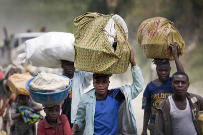 Villagers Flee Violence in DRCs North Kivu Province