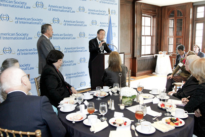 Secretary-General Addresses International Law Society in Washington