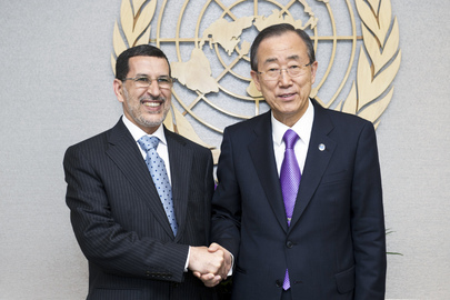 Secretary-General Meets Foreign Minister of Morocco