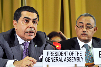 General Assembly President Addresses Conference on Disarmament