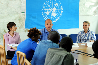 UN and IOM Officials Brief on Repatriation of South Sudanese from Kosti, Sudan