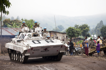UN Troops Deployed to DRC Town Amid Unrest