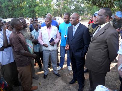 AU Special Envoy and Head of UNOCA Visit DRC