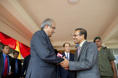 Secretary-General's Special Adviser Meets New President of Timor-Leste