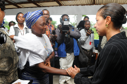 Security Council Delegation Visits Liberia