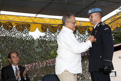 UNMIT Leaders Receive Medals of Order