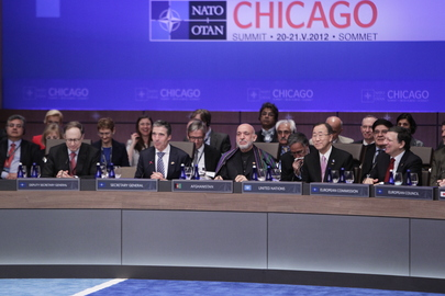 Secretary-General Attends 25th NATO Summit in Chicago