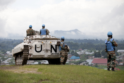 UN Peacekeepers Stand Guard over Congolese Towns at Centre of Conflict