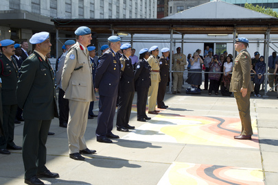 Peacekeepers Receive Medals at UN Headquarters