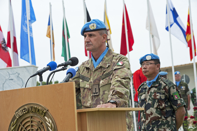 UNFIIL Celebrates International Day of Peacekeepers