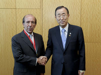 Secretary-General Meets Spanish Vice-Minister for Foreign Affairs in Istanbul