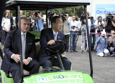 Secretary-General Visits Centre for Hydrogen Energy Technology in Istanbul