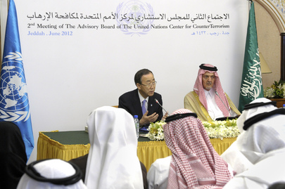 Secretary-General and Saudi Foreign Minister Brief on Counter-Terrorism