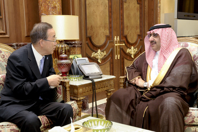 Secretary-General Meets Saudi Deputy Interior Minister for Security Affairs