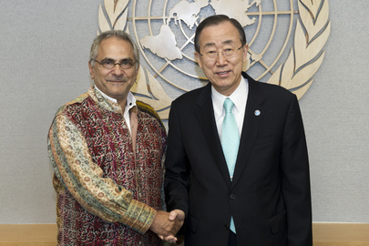 Secretary-General Meets Former President of Timor-Leste