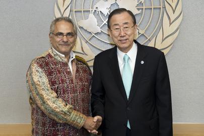 Secretary-General Meets Former President of Timor-Leste