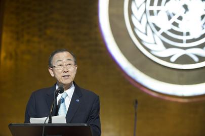 Ban Ki-moon (UN Photo/Mark Garten)