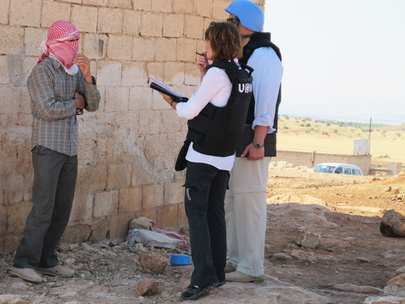 UN Observers Investigate Reported Massacre in Mazraat al-Qubeir