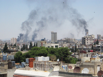 Homs Faces Renewed Round of Shelling